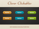 Link toColorful buttons psd