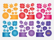 Link toColorful buttons vectors free