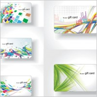 Link toColorful card background vector the trend