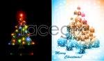 Link toColorful christmas tree vector