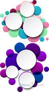 Link toColorful circular design vector