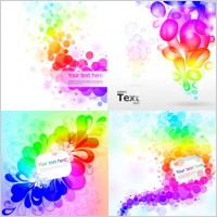 Link toColorful colorful background pattern vector