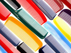 Link toColorful combs background picture material