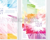 Link todesign vector cover Colorful