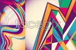 Link toColorful creative pattern background vector