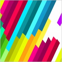 Link toColorful diagonal stripe vector pattern