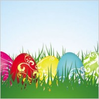 Link toColorful easter background 04 vector