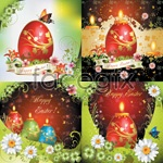Link toColorful easter vector