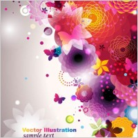 Link toColorful fashion pattern 04 vector