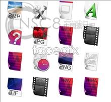 Link toColorful files desktop icons