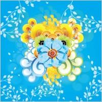 Link toColorful flower vector art illustra