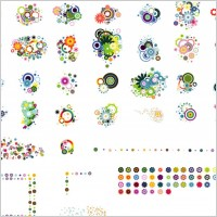 Link toColorful flower vector