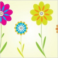Link toColorful flower vectors