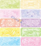 Link toColorful flowers element vector