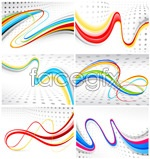 Link toColorful flowing lines vector