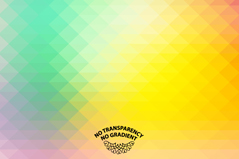 Link toColorful geometric-shaped blur the background vector