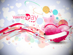 Link toColorful heart-shaped pattern vector
