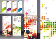 Link toColorful ink banners vector