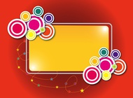 Link toColorful label template vector free