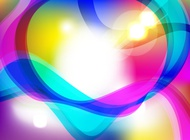 Link toColorful lights background vector free