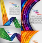 Link toColorful line backgrounds-vector