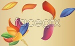 Link toColorful lotus flowers vector