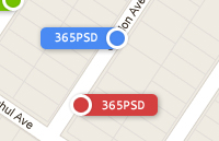 Link toColorful map tags psd