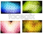 Link toColorful mosaic background vector