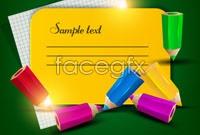 Link toColorful pencils vector