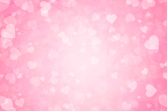 Link toColorful pink love background vector map