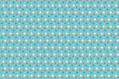 Link toColorful polka dot background design vector