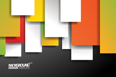 Link toColorful rectangle background vector