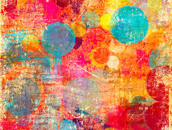 Link toColorful retro style background 05-hd pictures