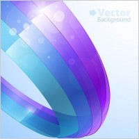 Link toColorful ribbons vector background 1