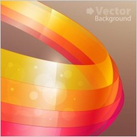 Link toColorful ribbons vector background 2