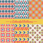 Link toColorful seamless pattern background vector