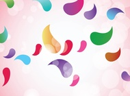 Link toColorful shapes vector free