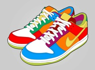 Link toColorful shoes vector free