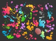 Link toColorful splatter vector free