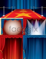 Link toColorful stage effects vector