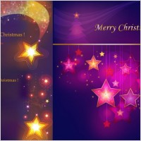 Link toColorful stars background vector