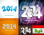 Link toColorful textures of 2014 vector