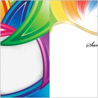 Link toColorful vector background lines