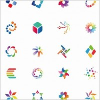 Link toColorful vector icon set
