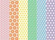 Link toColorful vector patterns free