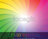Link tovector eddy ray projection spectrum color of vortex Colorful