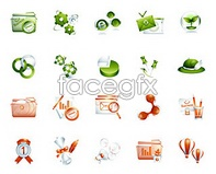Link tovector statistics folder disc 2 icons web Colorful