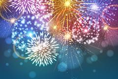Link toColour festival of fireworks vector