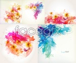Link toColour ink pattern vector