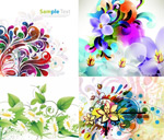 Link toColours flowers vector